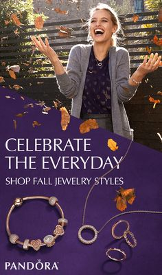 Fall is a time for fresh beginnings and new journeys. Accessorize in gorgeous jewelry styles for your next great adventure this season. Shop the NEW Autumn collection at PANDORA.