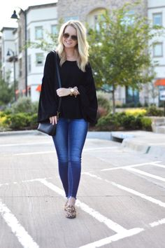 Transitional Fall Outfit - Adore More with Geor