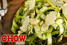 Talk CHOW: Shaved Asparagus Salad Recipe