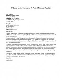 Cover Letter Sample Cover Letter For Internal Position
