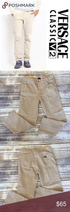 ❗️1-DAY SALE❗️Men's Versace V2 Corduroy Pants Men's Versace V2 Corduroy Pants. Size 42. Pic 1 for styling inspiration purposes Versace Pants Corduroy