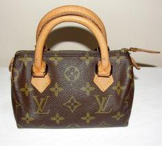 Louis Vuitton Mini Speedy Monogram Bag - Satchel $395