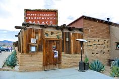 Pappy Harriets Pioneertown Outside- east of sd