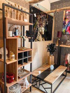Etagère pour coin cosy ou bureau Insta WoodHome by Florent Loft, Bed, Furniture, Home Decor, Desk, Decoration Home, Stream Bed, Room Decor, Lofts