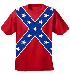 Southern Sisters Designs - Confederate Flag Unisex T Shirt All Over Design, $13.95 (http://www.southernsistersdesigns.com/confederate-flag-unisex-t-shirt-all-over-design/)