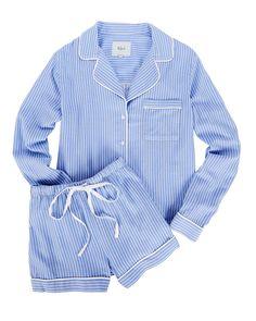 Rails Kellen Striped Pajama Short Set   INTERMIX® Kpop Fashion Outfits, Tween Fashion, Fashion Pics, Outfits For Teens, Cute Outfits, Yoga Outfits, Party Outfits, J Crew Pajamas, Monogrammed Pajamas