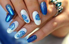 Naviguez via le menu ci-dessus Gel Nail Designs, Gel Nails, Painting, Chrome, Nail Designs, Watercolor Painting, Fishing Line, Fashion Styles, Nail Gel