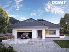 Modern Family House, Modern House Plans, House Layout Plans, House Layouts, Modern Traditional, Traditional House, Modern Exterior, Home Fashion, Interior Design Living Room