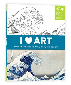 Look at this I Heart Art Activity Book on #zulily today!