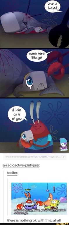 This is the only way I will accept Pearl as Mr. Krabs' daughter