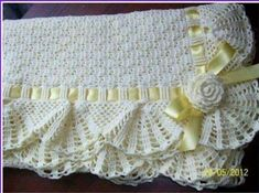 Baby Blankets Crochet For Sale Crochet Baby Shawl, Manta Crochet, Crochet Bebe, Tunisian Crochet, Crochet Afghans, Crochet Patterns Amigurumi, Knit Or Crochet, Crochet Blanket Patterns, Irish Crochet