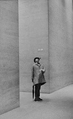 Jaques Tati, by Yale Joel