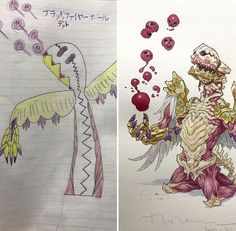 Dad Turns His Sons' Doodles Into Amazing Drawings - Ftw Gallery