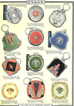 1920's Evans ad. From British Compact Collectors Society. www.compactcollectors.co.uk