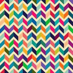 Amazing Chevron pattern :-) Art Print by Mrs. Opossum | Society6 pattern..how cool for a quilt pattern! Encontrado en society6.com