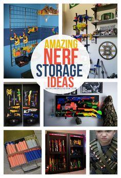 amazing nerf storage ideas