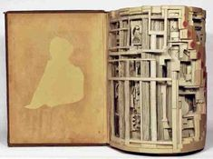 Work of (paper) art by Brian Dettmer Construction Paper Art, Brian Dettmer, Book Sculpture, Sculptures, Art Model, Paper Cutting, Cut Paper, Paper Paper, So Little Time