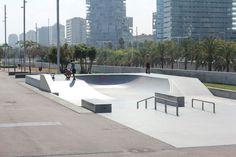Skate spots in Barcelona - Barcelona