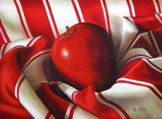 Red Stripes - Karen Budan