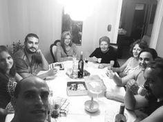 Un bellissima #cena l' ennesima qui da #zia in # #lunadimiele2017 con @flavymic @tamy0689 @lucia55curitti @katieaa82 #goodevening #goodfood #parents dopo 16 anni ci ritroviamo qui di nuovo finalmente.
