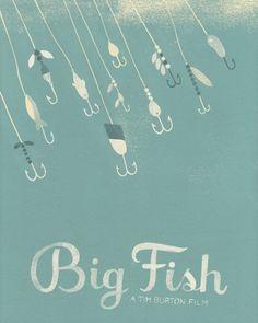 Silver Screen Society's Big Fish poster