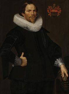 Nicoales Eliasz. Pickenoy (attr.), Portrait of Pieter van Son, c. 1622 - Het Rijksmuseum