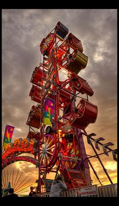 The Zipper...every stinkin year at the county fair. @Sarah Chintomby Reasons @Molly Simon Helton