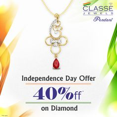 Independence Day Offer 40% OFF on Diamond 45 Days Return | 0% Making charges | COD Available