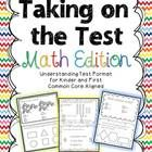 This packet is a intended to help you prepare your students for the format and wording of assessments.   This packet gives you a year's worth practice for helping your young learners tackle tests!