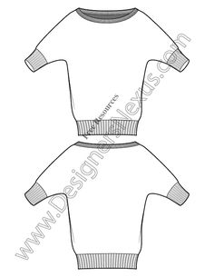 V12 Vector Sweater Sketch Free Illustrator Fashion Technical Flats - free download of this Adobe Illustrator fashion flat sketch template + More fashion technical drawing templates at www.designersnexus.com! #flatsketches #sweater #fashiondesign #fashiontemplates #vector #fashionsketch