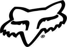 Fox Head logo. Motocross.