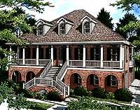 Stylish Low Country Home Plan