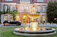 Luxury Mansion Estate with Motor Court Fountain