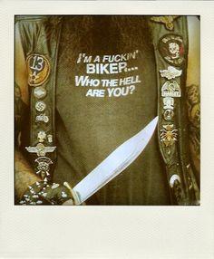 Biker…