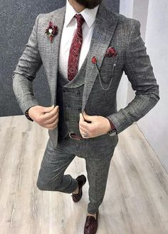 Giorgenti New York Custom Suits Custom Shirts Tuxedo Black and Grey Suit and Tuxedo Collection NYC 2019 Black collection Custom Giorgenti GREY NYC ShirtsTuxedo suit SuitsCustom Tuxedo York is part - Mens Designer Tuxedos, Designer Suits For Men, Designer Salwar Suits, Mens Fashion Suits, Indian Men Fashion, Fashion Outfits, Fashion Pants, Black And Grey Suit, Grey Suit Men