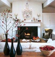 Not sure how to decorate your living room this holiday season? Great ideas available at  http://www.decorauthority.com/2014/10/03/embrace-seasons-interior-design/