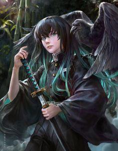 Tanjiro 🔥🔥🔥 btw Nezuko is inside the box right now zzz - - - - New sword - - - - Manga Anime, Anime Demon, Anime Guys, Anime Art, Demon Slayer, Slayer Anime, Chihiro Cosplay, Character Art, Character Design
