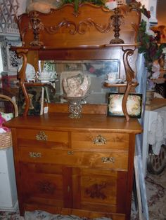antique buffet, hello beautiful!