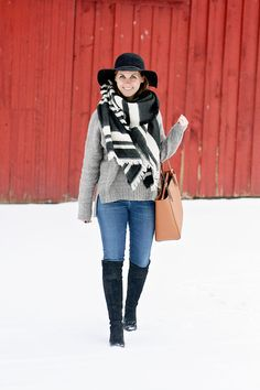 jillgg's good life (for less) | a west michigan style blog: my everyday style: winter layers!