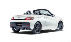 Toyota Copen GR Sport Is an Adorably Aggressive Tiny Roadster Gazoo Racing performance in kei-car fun size. Kei Car, Daihatsu, Toyota, Fun Size, Automotive Art, Paddle, Racing, Jeep, Cars