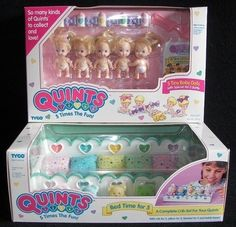 '90s Toys and Games for Girls (55 pics) me and my cousins were SO obsessed with quints!  We each had several sets plus the triplet babysitters.