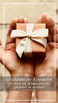 Geschenke für Kitesurfer? Anlässe zum Schenken gibt es ja genug, ich habe die kreative Geschenkideen für Dich um Windverrückte glücklich zu machen!