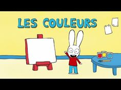 Simon - Les COULEURS avec Simon !! HD [Officiel] Dessin animé pour enfants - YouTube Anime, Family Guy, Officiel, Films, Fictional Characters, Youtube, Art, Bunny, Songs