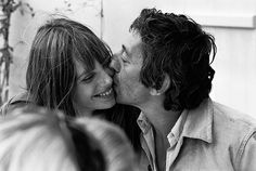 Serge Gainsbourg and Jane Birkin, photography by Tony Frank.