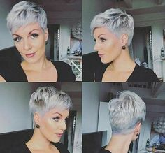 Short Pixie Haircut Bleached Pixie Edgy Shaved Pixie 2019 Very Short Pixie Haircut Short Fine Pixie Hairstyle Teyana Taylor Short Hair Black Pixie Hairstyle Short Pixie 2018 Short Cropped Tapered… Continue Reading → Short Hair Cuts For Women, Short Hairstyles For Women, Hairstyles 2018, Hairstyle Short, Short Hair Pixie Edgy, Edgy Pixie Hairstyles, Pixie Haircut Styles, Super Short Pixie, Pixie Haircut For Thick Hair