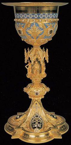 Caliz donado a Leon XIII por las Ordenes Militares Españolas