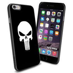 "Cute-Cartoon-Skull-Pattern-Background, iPhone 6 4.7"" Case…"