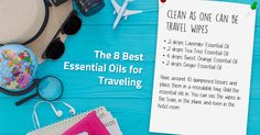 essential oil travel wipes