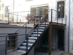 Escalier crémaillère Brest Design Métallerie