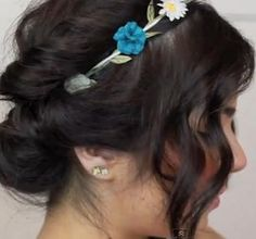 DIY Wedding Hair : DIY Summer Updo for Short Hair